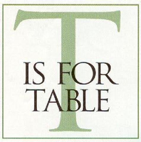 T Is For Table Colorado logo